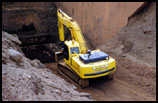 The BJ Young Earthmoving Excavator